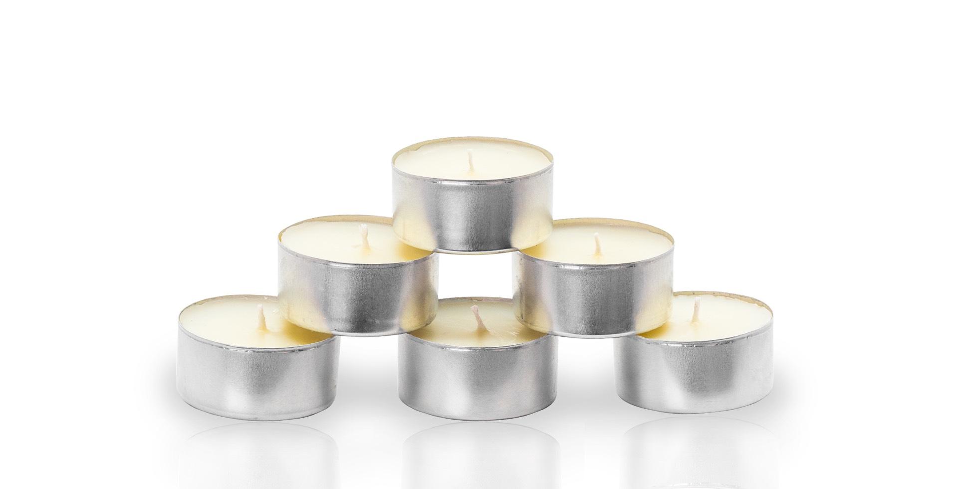 Áno, aj čajové sviečky môžu voňajú
